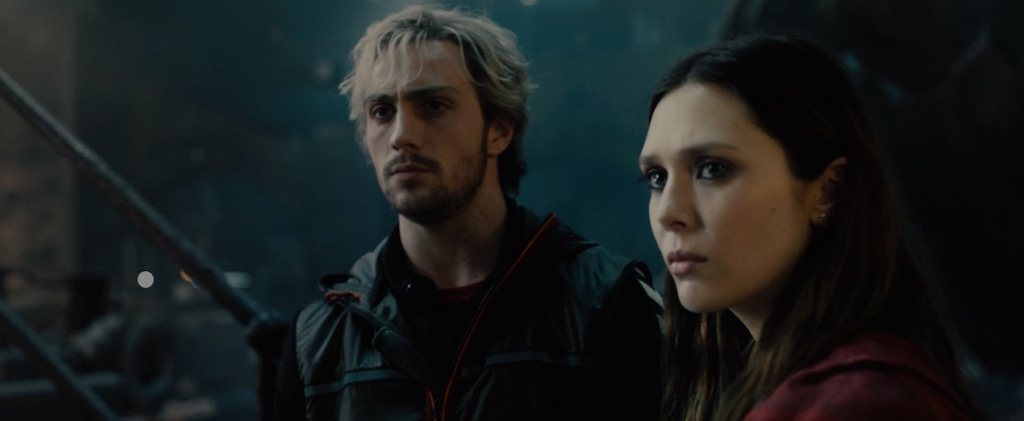 Avengers 2 Age of Utlron Screenshot Scarlet Witch and Quicksilver