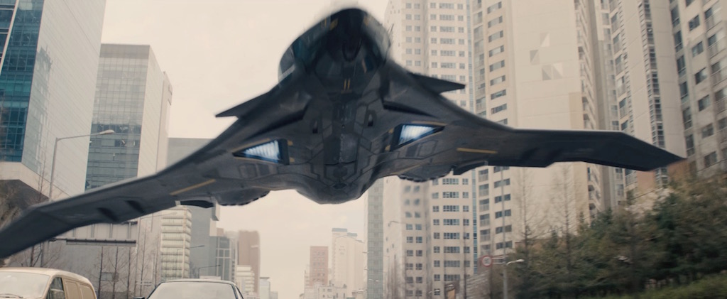 Avengers 2 Age of Utlron Screenshot SHIELD Jet