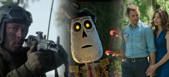 Box Office Battlefield Fury, The Best of Me, and The Book of Life