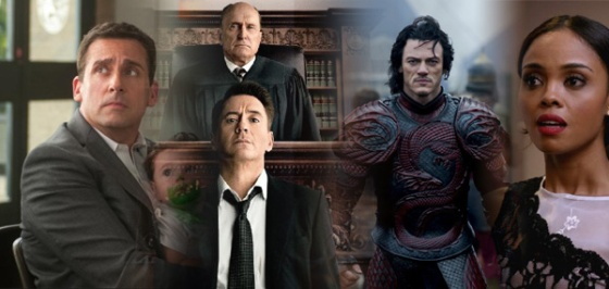 Box Office Battlefield The Judge, Alexander and the Terrible, Horrible, No Good, Very Bad Day, Addicted, and Dracula Untold