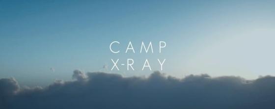 Camp X-Ray Movie Title Logo