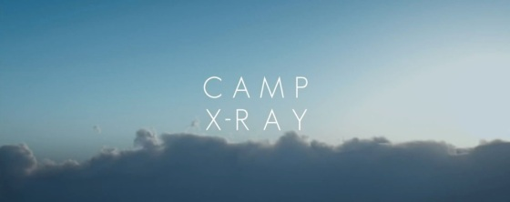 Camp X-Ray Movie Title Logo