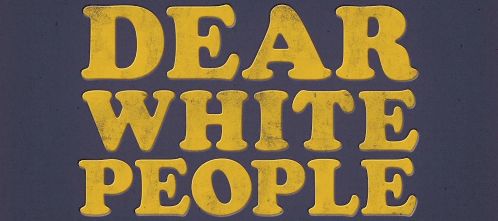 Dear White People Movie Title Logo