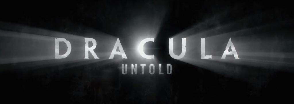 Dracula Untold Movie Title Logo