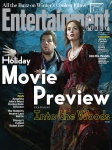 Emily Blunt and James Corden Into the Woods EW Cover