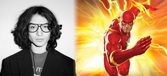 Ezra Miller Cast as 'The Flash' for DC Cinematic Universe