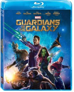 Guardians of the Galaxy Blu-ray Box Cover Art