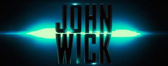 John Wick Movie Title Logo