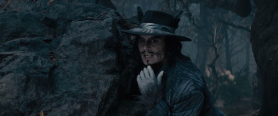 Johnny Depp Wolf and Character Preview Into the Woods
