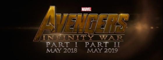 Marvel Studios Event Avengers Infinity War Title logo
