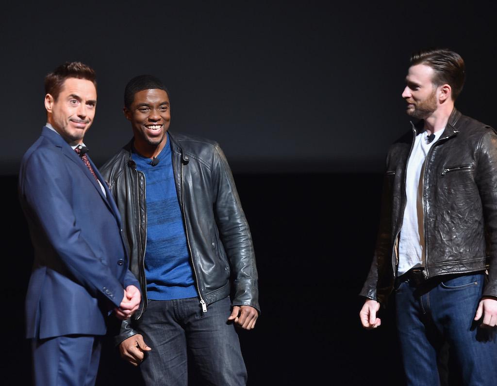 Marvel Studios Event Black Panther Chadwick Boseman
