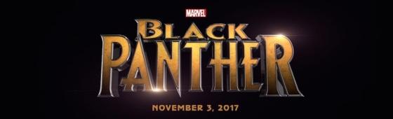 Marvel Studios Event Black Panther Title Logo
