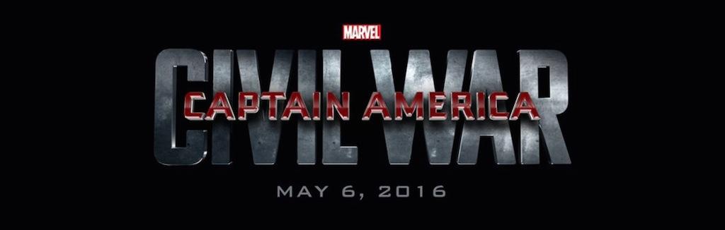 Marvel Studios Event Captain America 3 Civil War Title Logo