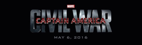 Marvel Studios Event Captain America 3 Civil War Title Logo