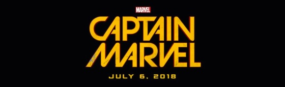 Marvel Studios Event Captain Marvel Title Logo