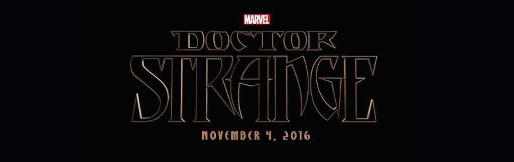 Marvel Studios Event Doctor Strange TItle Logo