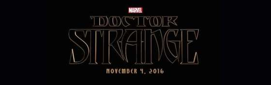 Marvel Studios Event Doctor Strange TItle Logo