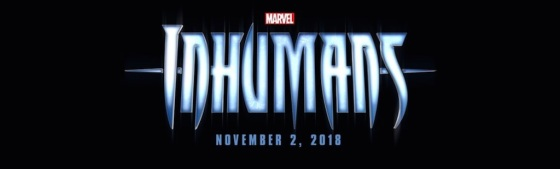 Marvel Studios Event Inhumans Title Logo