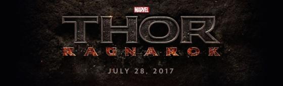 Marvel Studios Event Thor Ragnarok Title Logo