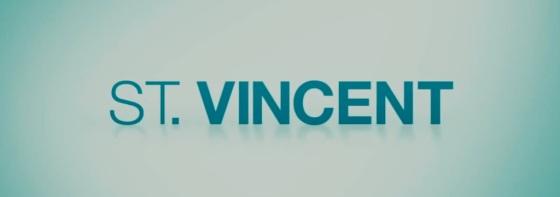 St. Vincent Movie Title Logo