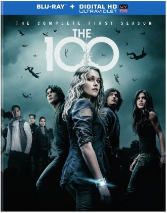 The 100 CW Season 1 Blu-Ray Box Cover Art