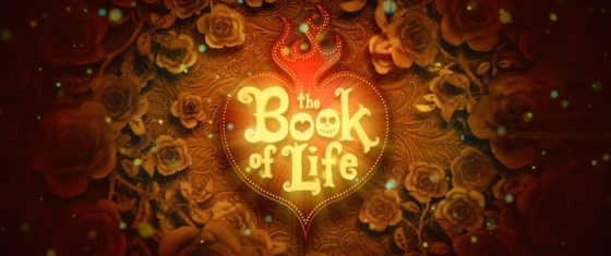 The Book of Life 2014 Movie Title Logo