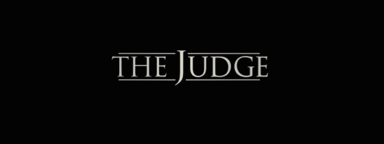 The Judge 2014 Movie Title Logo