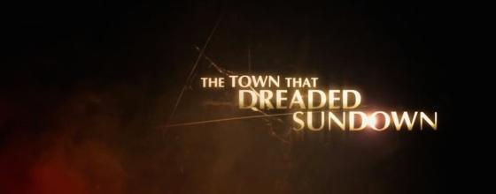 The Town that Dreaded Sundown Movie Title Logo