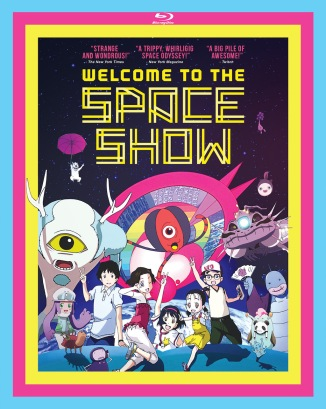 Welcome to the Space Show Blu-Ray Box Cover Art