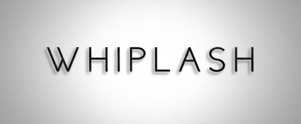 Whiplash Movie Review Title Logo