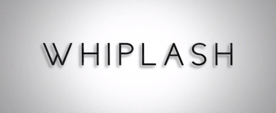 Whiplash Movie Review Title Logo