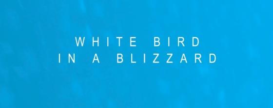 White Bird in a Blizzard Movie Title Logo