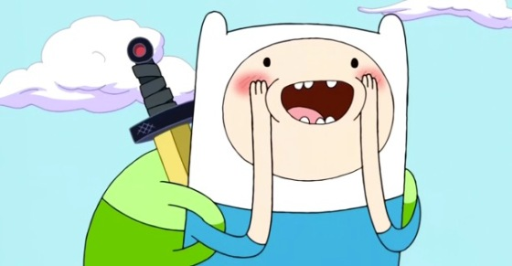 Adventure Time Finn the Human Backpack and DVD