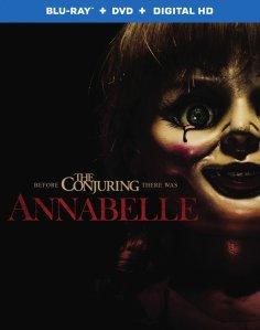 Annabelle Movie Blu-Ray Box Cover Art