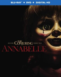 Annabelle Movie Blu-Ray Box Cover Art