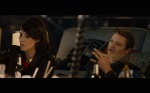 Avengers Age of Ultron Screenshot Maria Hill and Hawkeye