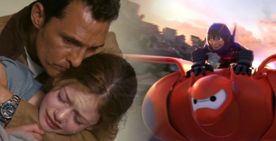Box Office Battlefield Interstellar vs. Big Hero 6
