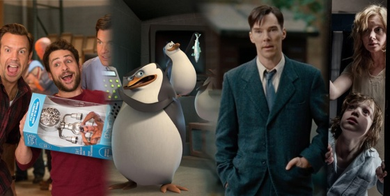 Box Office Thanksgiving Battlefield Horrible Bosses 2, Penguins of Madagascar, and The Imitation Game