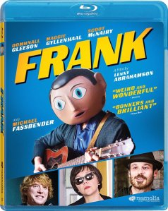 Frank Movie Blu-Ray Box Cover Art