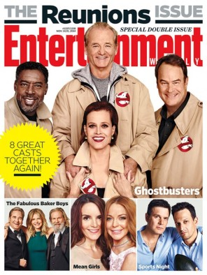 Ghostbusters Reunion Entertainment Weekly