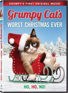 Grumpy Cat's Worst Christmas Ever DVD Box Cover Art