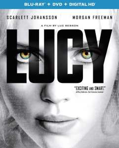 Lucy Movie Blu-Ray Box Cover Art