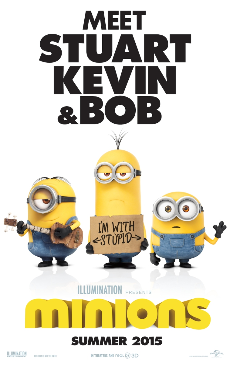 Minions Movie Teaser Poster