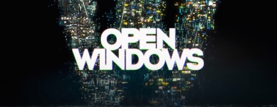 Open Windows 2014 Movie Title Logo