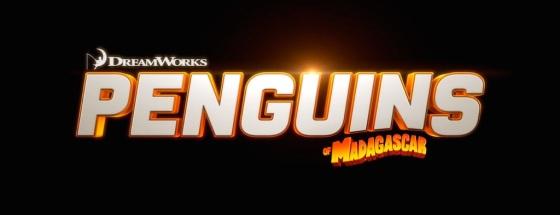 Penguins of Madagascar Movie Title Logo