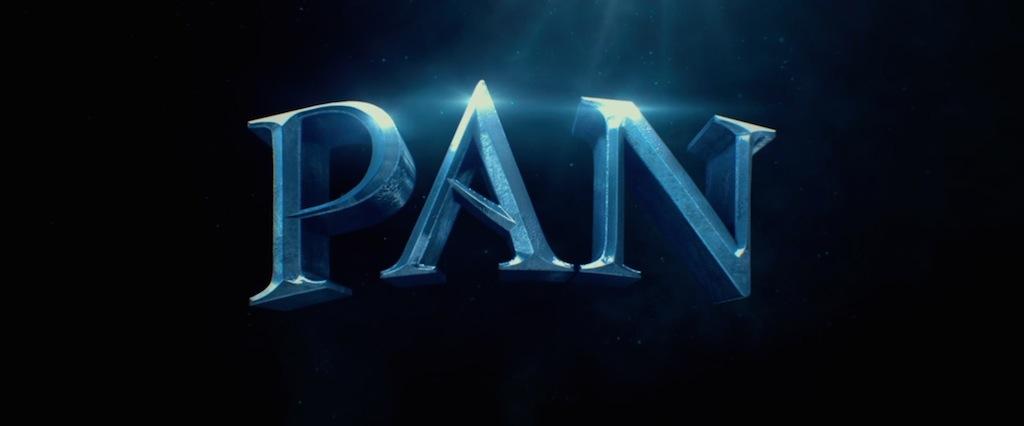 Peter Pan 2015 Movie Title Logo