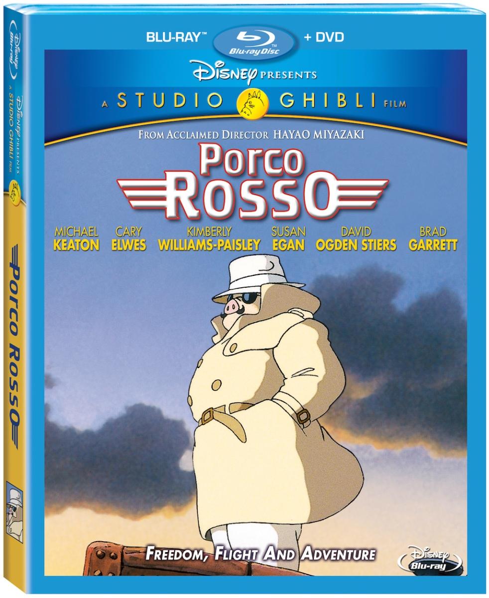 Porco Rosso Blu-Ray Box Cover Art