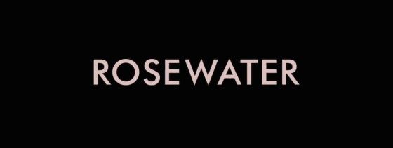 Rosewater Movie Title Logo