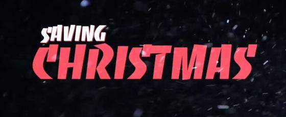 Saving Christmas Movie Title Logo