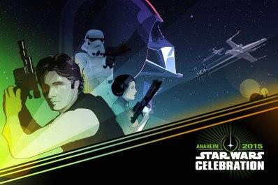 Star Wars Celebration 2015 Poster